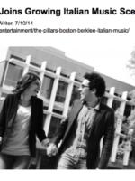 Bostoniano: The Pillars Joins Growing Italian Music Scene in Boston