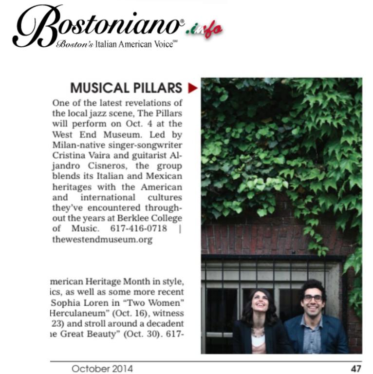 """Bostoniano: """"Musical Pillars"""""""