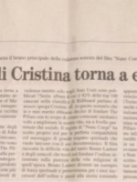 The Voice of Cristina comes back to give emotions