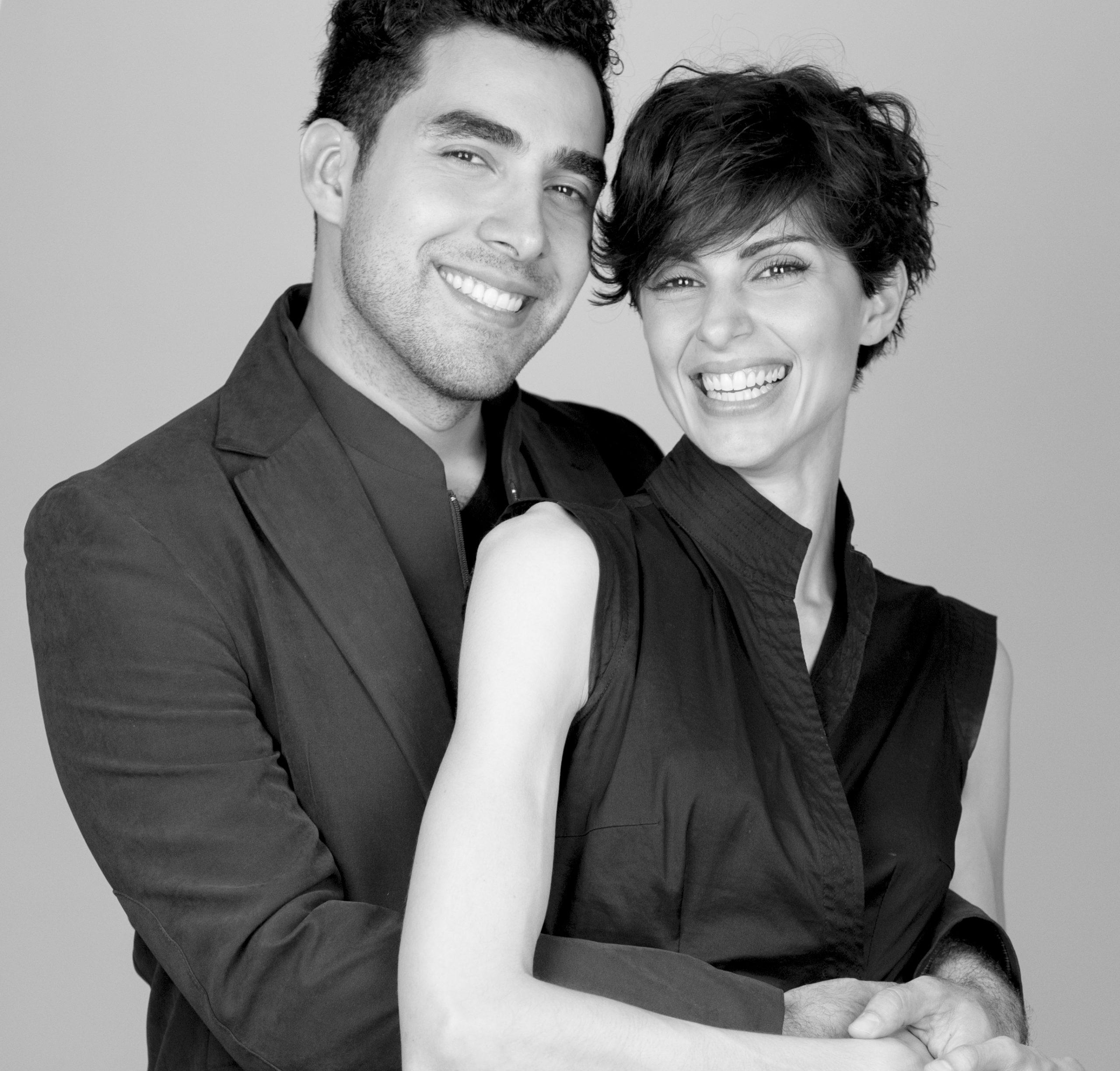 Jandro & Cristina (Black and White)